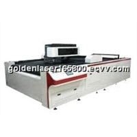 Continuous & High Speed Large-Area Laser Cutting Bed Machine