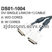 DVI Single Link(18+1) Cable
