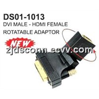 DVI to HDMI  (Rotatable) Adaptor