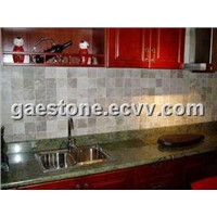 Multi-Color Green Granite / Granite Tiles