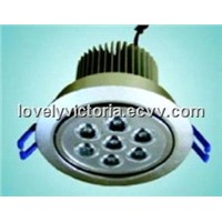 super power7W LED ceiling light