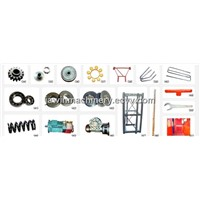 Construction hoist parts