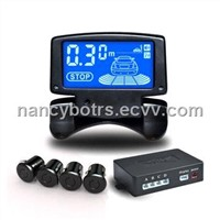 LCD Parking Sensor System with Flip Open/Closing Display