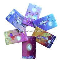 Gift Credit Card MP3 2GB-16GB