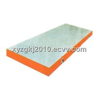 Mould bottom plate
