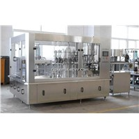 Automatic carbonated beverage filling machine (3-in-1)
