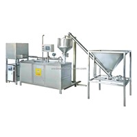 Automatic wafer batter mixer
