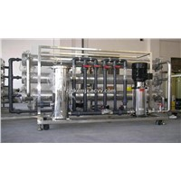 Single stage reverse osmosis system