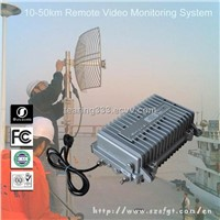 10-50km Wireless FM Video Surveillance Equipment