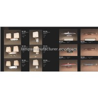 2011 Hotel Wall Lamp MOQ30pcs accepted