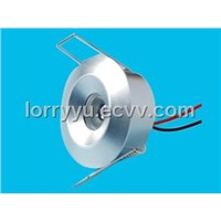 70lm 1*1W led downlight