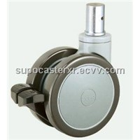 73 series Medical equipment plastic caster-twin wheel.