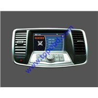 Free ship and high quality 7 INCH CAR DVD player WITH GPS FOR NISSAN TEANA-B