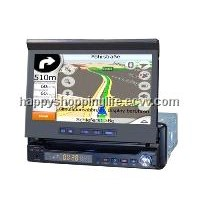 7 Inch Autoradio with DVD 800 x 480 - GPS Bluetooth