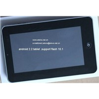7 inch WM8650 android 2.2 tablet support flash 10.1