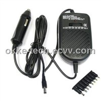 80W DC universal laptop adapter FOR CAR
