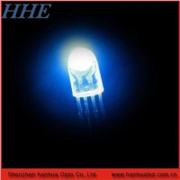 8mm oval led diode full color
