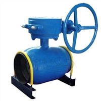 All Welded Ball Valve