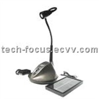Aluminum Lamp/Head Holder Solar Table Lamp