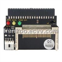 Black Flash CF To 3.5 Inch IDE 40 Pin Female Adapter