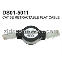 CAT5e Retractable Flat Cable
