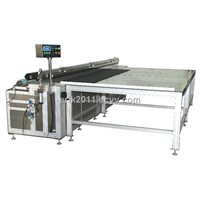 CQJ AUTO ULTRASONIC CURTAIN CUTTING MACHINE