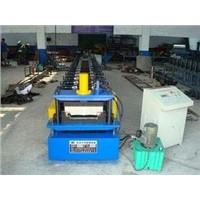 Colored steel tile forming machine