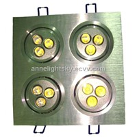Combination 12W LED Ceiling Light