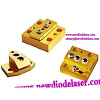 Conductively Cooled Package high power laser diode bars