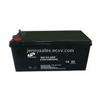 Deep cycle battery 12V200AH