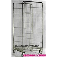 Demountable roll cage (storage mesh cage trolley)