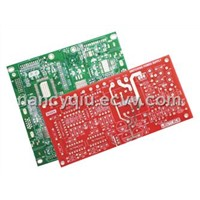 Double-sided pcb,FR4 PCB,Green soldermask board