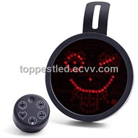 Driving LED Emoticon