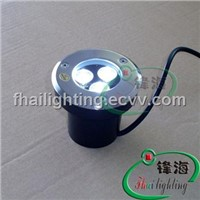 Embedded Stainlees Steel LED Fountain Light (FH-SC090-3W)