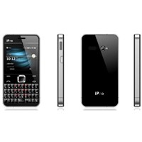 Four band TV mobile ,qwerty phone. super slim. i66 pro. Dual sim dual standby.
