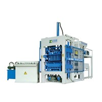 Fully-Automatic Concrete Brick Making Machine (QT6-15 )
