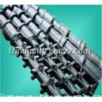 HDPE PPR special high speed screw barrel