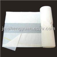 HDPE White Garbage Plastic Bag in Roll