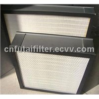 HEPA Filter/HEPA Panel Air Filter without Clapboard