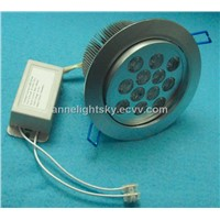 High Bright 12W LED Downlight