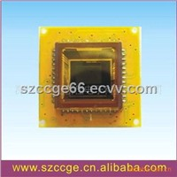 High resolution CCTV camera board