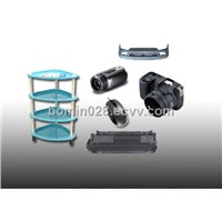 Injection moulding plastic parts and products