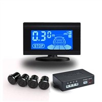 LCD Parking Sensor System with up to 0.01m Precise Detection