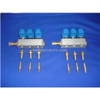 LPG/CNG Fuel Injector for 6 Cylinder
