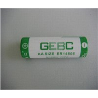 Li/Socl2 ER14505 AA 3.6V sales03@ge-battery.com
