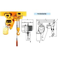 Low Headroom Manual Hoist