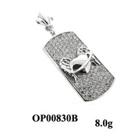 Luxurious 925 Silver Pendant