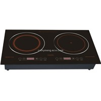 Multifunction induction and infrared cooker C128