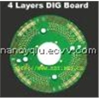Multilayer pcb,4layer PCB,pcb copy & design,Printed circuit board ,PCB electronic