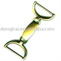 Nickel-free Plated Metal Snap Hook Buckle